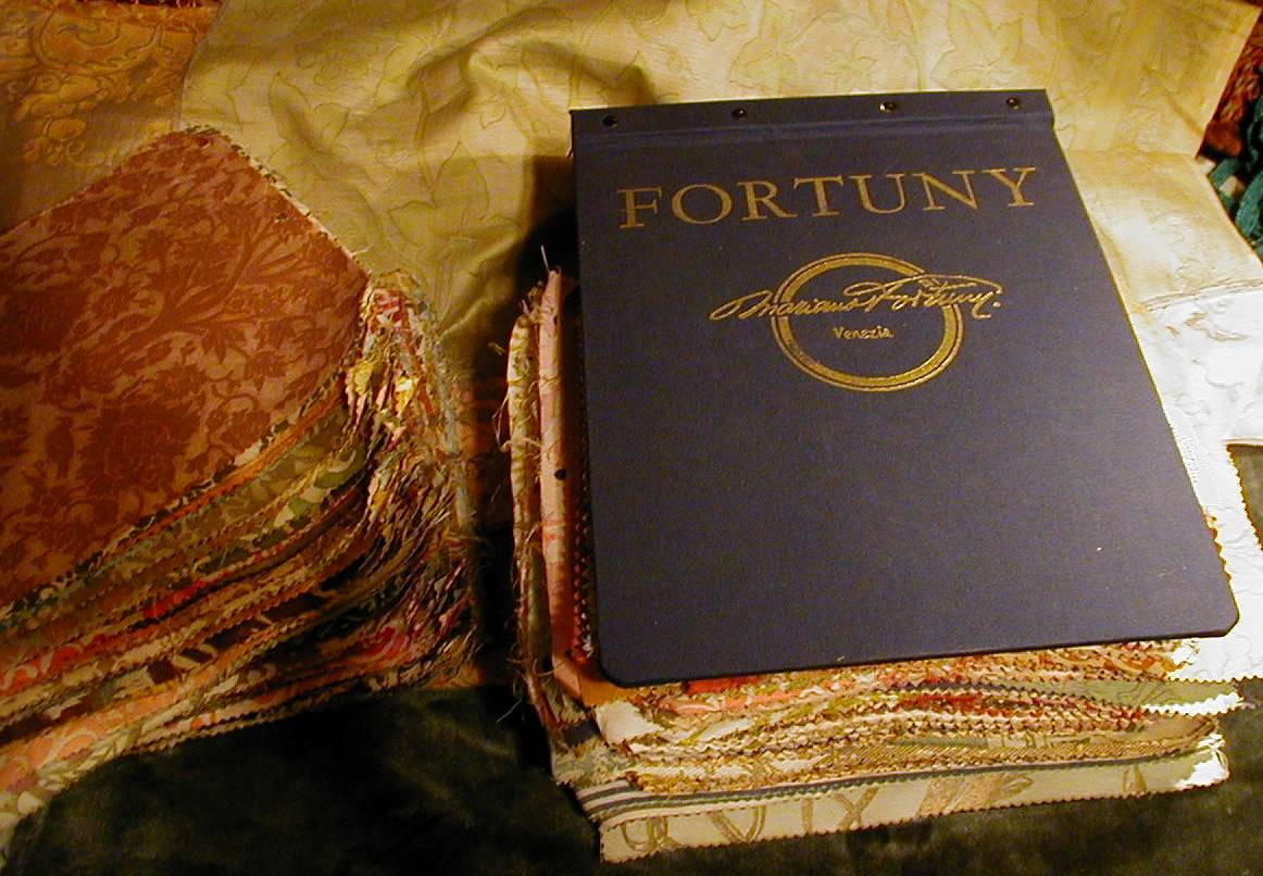 Fortuny sample book